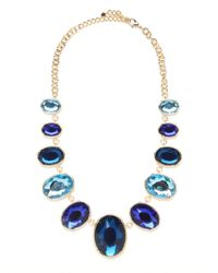 BaubleBar - Blue Sapphire Gem Bib - Lyst