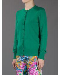 Dolce & Gabbana Green Cotton Cardigan
