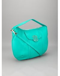 Tory Burch   Green Tote Bag   Lyst