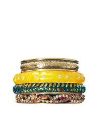 ASOS - Multicolor Summer Nights Bracelet Pack - Lyst