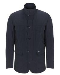Barbour Blue Barbour Tailored Sapper Jacket Navy for men