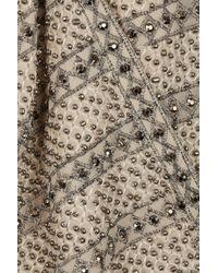 TOPSHOP Natural Pearl Embellished Jacket