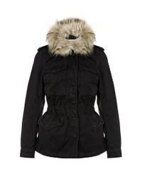 Denim & Supply Ralph Lauren Black Down Jacket
