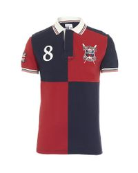 Hackett Red Boat Race Polo Shirt for men