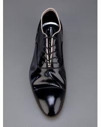 Premiata Black Lace Up Shoe for men