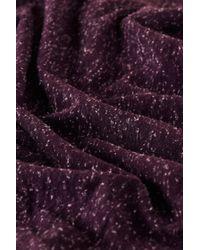 TOPSHOP Purple Aubergine Speckle Skater Skirt