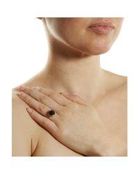 Irene Neuwirth Rose Cut Black Onyx Ring