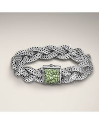 John Hardy - Metallic Medium Braided Bracelet - Lyst