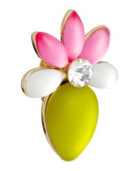 ASOS - Multicolor Frosted Flower Stud Earrings - Lyst