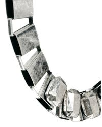 ASOS - Metallic Collar Necklace - Lyst