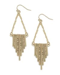 BaubleBar | Metallic Gold Buren Earrings | Lyst