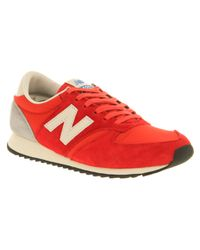New Balance U420 Red Grey for men