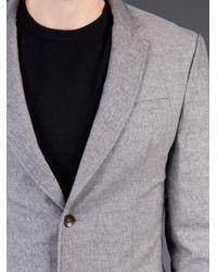 Rag & Bone Gray Phillips Blazer for men