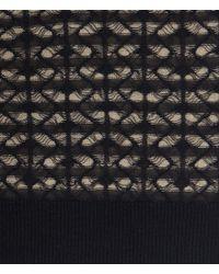 AllSaints Black Diamond Mesh Cardigan