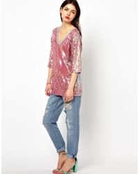 ASOS Collection - Multicolor Oversized T-Shirt  - Lyst