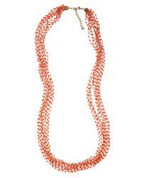 BaubleBar - Metallic Coral Bead Layer - Lyst
