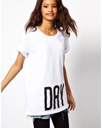 ASOS Collection White Oversized T-Shirt