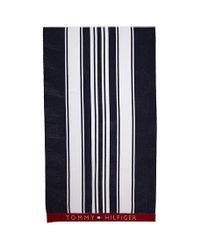 Tommy Hilfiger Blue Scott Towel for men