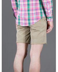 Polo Ralph Lauren Natural Distressed Short for men