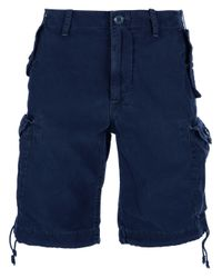 Polo Ralph Lauren Blue Cargo Short for men