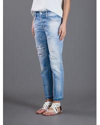 DSquared² Blue Linda Boyfriend Jeans