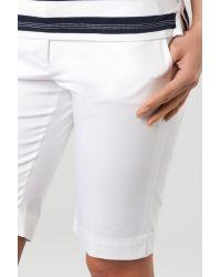 Tommy Hilfiger White Rodrigo Rome Bermuda Shorts