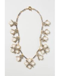 Anthropologie | White Opalescent Garland Necklace | Lyst