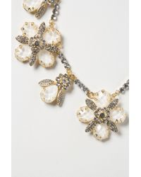 Anthropologie   White Opalescent Garland Necklace   Lyst