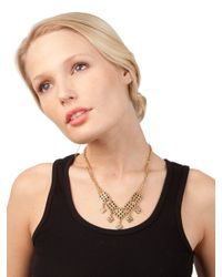 BaubleBar - Metallic White Istanbul Necklace - Lyst