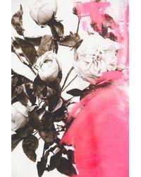 Christopher Kane White Cotton Print Tee