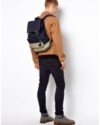 Fred Perry   Blue Backpack for Men   Lyst