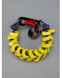 KENZO Multicolor Keyring for men