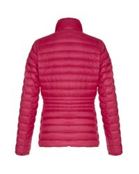 Moncler Red Ire Quilted Jacket