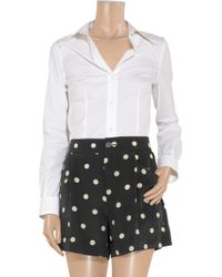 Marc By Marc Jacobs | White Polka Dot Shorts | Lyst