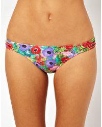 MINKPINK | Multicolor Lexi Pintuck Bikini Bottom | Lyst