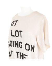 Ashish | Sequin-Embroidered Slogan T-Shirt | Lyst