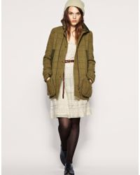 ASOS Collection Natural Cooper & Stollbrand For Asos Shooting Jacket