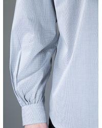Comme des Garçons Black Puff Sleeve Shirt for men