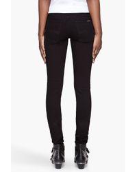 Nudie Jeans - Black Tight Long John Organic Cotton Jeans - Lyst