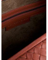 Bottega Veneta Purple Woven Leather Bag