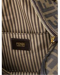 Fendi - Brown Logo Bowling Bag - Lyst