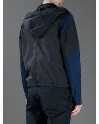 Lanvin Blue Hooded Jacket for men