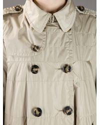 Moncler Natural Hisako Swing Coat