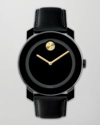 Movado Bold - Black 42mm Bold Watch for Men - Lyst