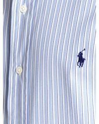 Polo Ralph Lauren Polo Ralph Lauren Custom Fit Short Sleeve Shirt Blue for men