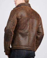 Ugg | Brown Refugio Shearling Jacket Chocolate for Men | Lyst