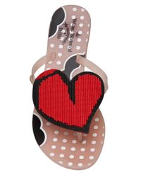 Vivienne Westwood Anglomania Red Heart Sandal