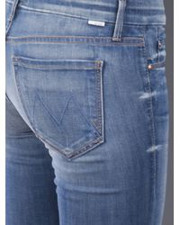 Mother Blue The Looker Crop Jean