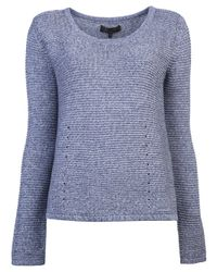Rag & Bone Blue Laurel Pullover Sweater