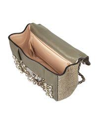 Chloé - Metallic Elsie Mini Embellished Watersnake Shoulder Bag - Lyst